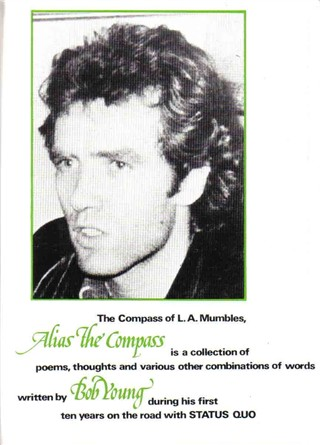 backcover of the Bob Young book 'Alias the Compass'