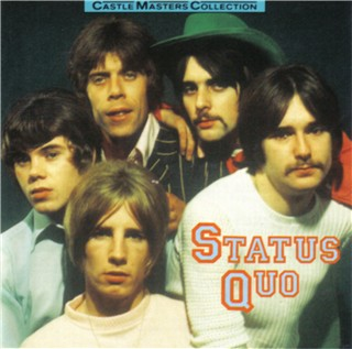 CD-Cover der deutschen Status Quo Kompilation 'Castle Masters Collection'