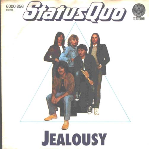 deutsche Cover der Single 'Jealousy'