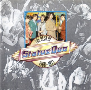 CD-Cover der Status Quo Kompilation 'STATUS QUO - The Best of 1968-1971' PWK4080