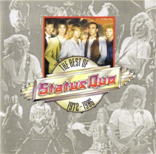 CD-Cover der Status Quo Kompilation 'STATUS QUO - The Best of 1972-1986' PWK4080
