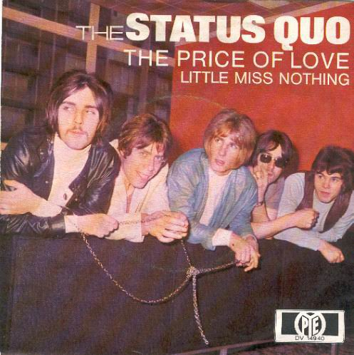 german single cover 'The Price of love'