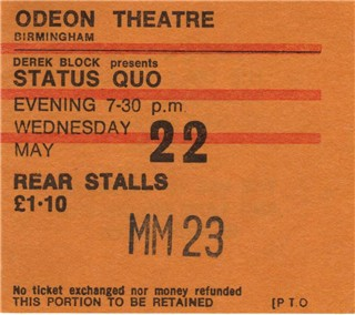 m ticket status